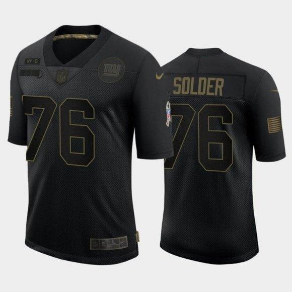 ♒New York Giants Nate Solder Jersey